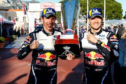 Победители Себастьен Ожье и Жюльен Инграссиа, Ford Fiesta WRC, M-Sport Ford