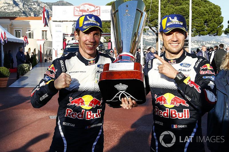Rally de Montecarlo: Sébastien Ogier y Julien Ingrassia, M-Sport Ford