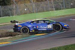 #26 Leipert Motorsport: Niels Lagrange, Pieter Vanneste in de problemen