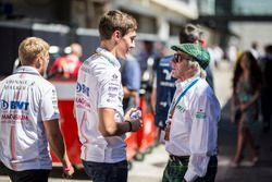 George Russell, Sahara Force India and Jackie Stewart