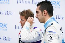 Sam Bird, DS Virgin Racing, Sébastien Buemi, Renault e.Dams