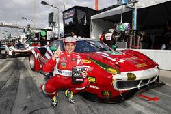 GTD Ganador de la pole #51 Spirit of Race Ferrari 488 GT3, GTD: Daniel Serra