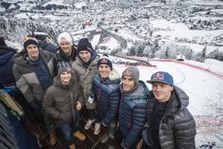 Brendon Hartley, Sebastien Ogier, Dani Pedrosa, Pierre Gasly, Pol Espargaro, Marc Marquez, Bradley S