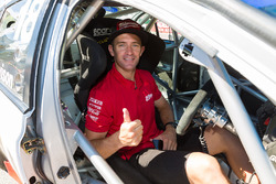 Will Davison with Dick Johnson Racing Falcon and Ellery Motorsport Falcon in Adelaide