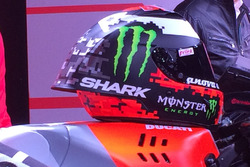 Il casco di Jorge Lorenzo, Ducati