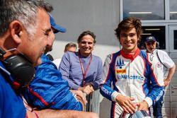 Le deuxième, Pedro Piquet, Trident, avec son père Nelson Piquet.