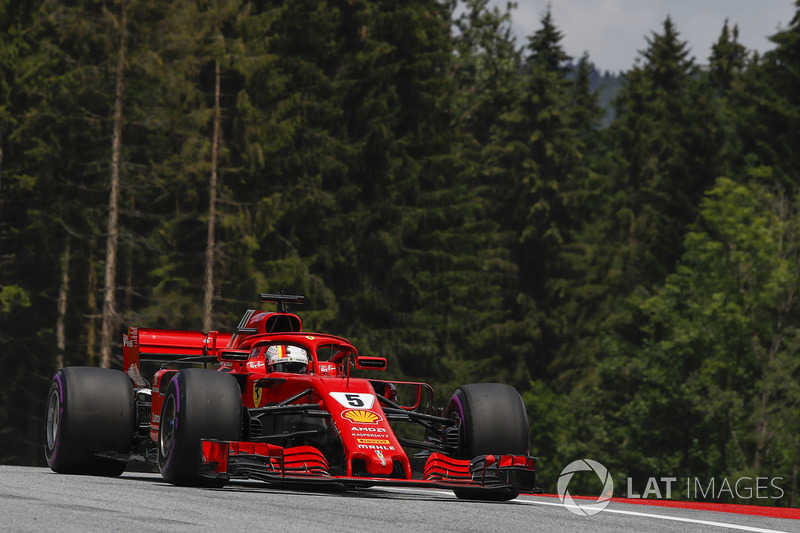 6. Sebastian Vettel, Ferrari SF71H*