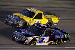 Todd Gilliland, Kyle Busch Motorsports, Toyota Tundra Mobil 1 and Brandon Jones, Kyle Busch Motorsports, Toyota Tundra American Standard/Eljer/Menards