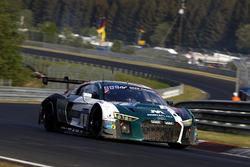 #1 Audi Sport Team Land Audi R8 LMS GT3: Christopher Mies, Kelvin van der Linde, Sheldon van der Linde, Rene Rast