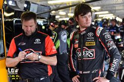 Erik Jones, Joe Gibbs Racing, Toyota Camry Reser's and Chris Gayle