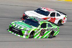 Kyle Busch, Joe Gibbs Racing, Toyota Camry Interstate Batteries e Christopher Bell, Joe Gibbs Racing, Toyota Camry Rheem-Smurfit Kappa
