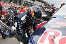 Triple Eight Race Engineering team member at work