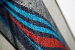 A Martini stripe on the Williams motorhome