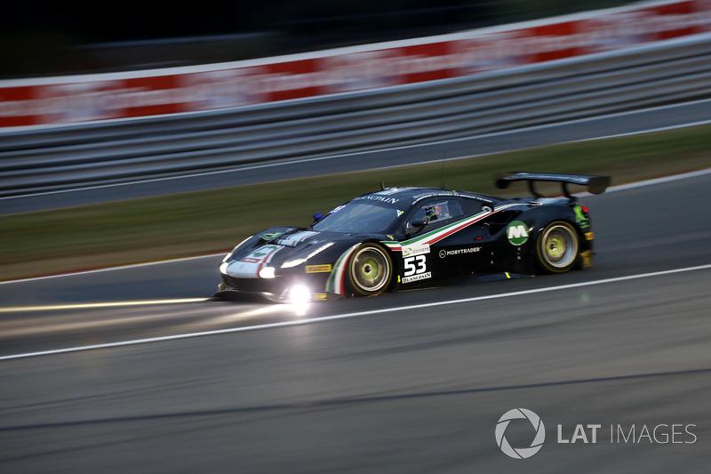 #53 AF Corse Ferrari 488 GT3: Niek Hommerson, Louis Machiels, Andrea Bertolini, Marco Cioci