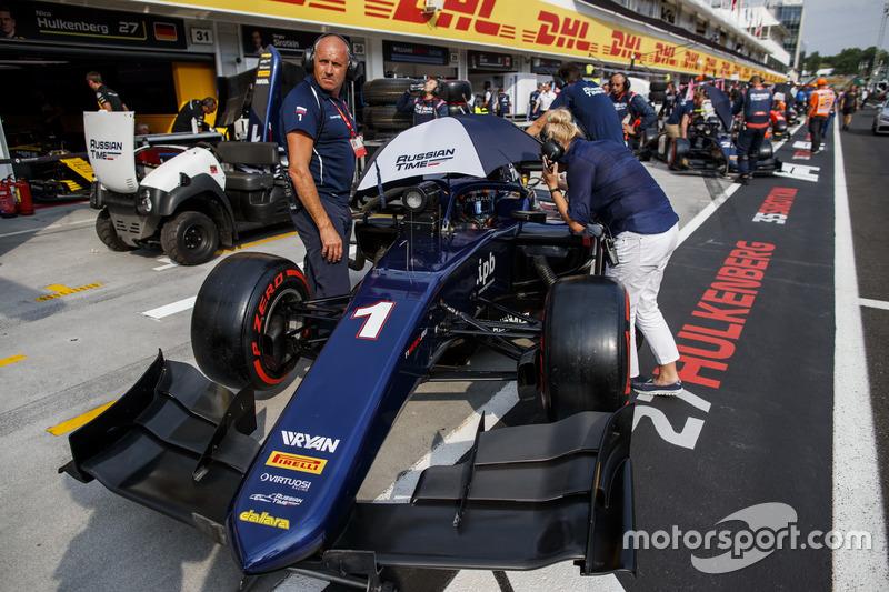 Формула 2, VIII этап, «Хунгароринг»