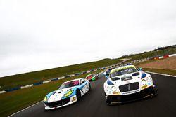 Callum Pointon, Patrik Matthiesen HHC Motorsport Ginetta G55 GT4 and Rick Parfitt Jr., Ryan Ratcliffe Team Parker Racing Ltd Bentley Continental GT3