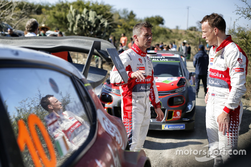 Sébastien Loeb, Citroën World Rally Team, Kris Meeke, Citroën World Rally Team