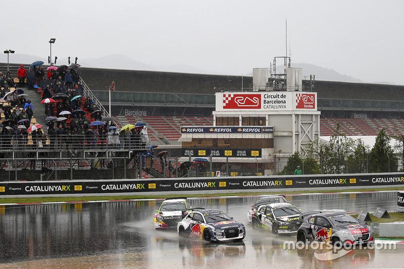 Timmy Hansen, Team Peugeot Total, Andreas Bakkerud, EKS Audi Sport, Timur Timerzyanov, GRX Taneco, G