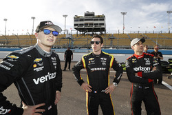 Josef Newgarden, Team Penske Chevrolet, Simon Pagenaud, Team Penske Chevrolet, Will Power, Team Pens