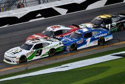 Tyler Reddick, JR Motorsports, BurgerFi Chevrolet Camaro, Elliott Sadler, JR Motorsports, OneMain Fi