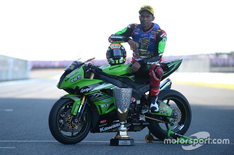 Juara SS600: Azlan Shah, Manual Tech KYT Kawasaki Racing