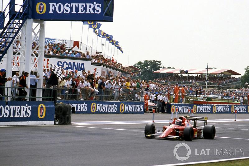 Yarış galibi Alain Prost, Ferrari 641/2