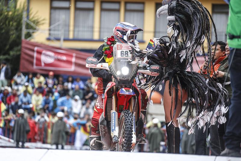 #68 Monster Energy Honda Team: Хосе Ігнасіо Корнехо Флорімо та грід-гьол