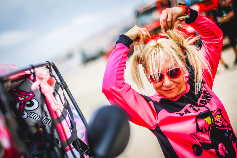 5. #351 C.A.T Racing Yamaha: Камелія Ліпароті