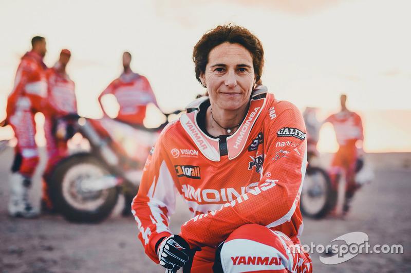 #371 Rosa Romero (copiloto), C. A. T. Racing Yamaha