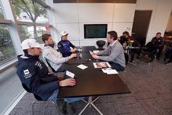 Esteban Ocon, Force India, Romain Grosjean, Haas F1 Team, Pierre Gasly, Toro Rosso