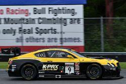 #9 K-PAX Racing Bentley Continental GT3: Alvaro Parente, Andy Soucek