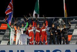 Podium Pro-Am: Winnaar #51 AF Corse Ferrari 488 GT3: Duncan Cameron, Matt Griffin, Gianluca de Lorenzi, tweede plaats #31 Team Parker Racing Bentley Continental GT3: Seb Morris, Derek Pierce, Rob Smith, derde plaats #5 Black Falcon Mercedes-AMG GT3: Kriton Lendoudis, Saud Al Faisal, Rui Aguas