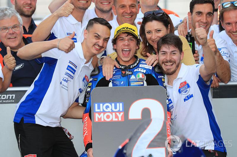 Il secondo classificato Marco Bezzecchi, Prustel GP