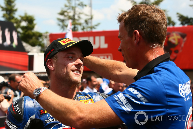 Alex Lowes, Pata Yamaha, Paul Denning
