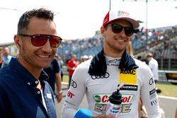 Timo Scheider met Nico Müller, Audi Sport Team Abt Sportsline