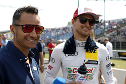 Timo Scheider with Nico Müller, Audi Sport Team Abt Sportsline