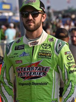 Daniel Suarez, Joe Gibbs Racing, Toyota Camry Interstate Batteries
