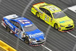 Ricky Stenhouse Jr., Roush Fenway Racing, Ford Fusion Fastenal and Paul Menard, Wood Brothers Racing, Ford Fusion Menards / Knauf