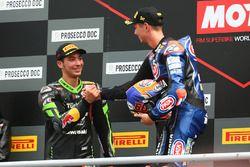 Michael van der Mark, Pata Yamaha, Toprak Razgatlioglu, Kawasaki Puccetti Racing