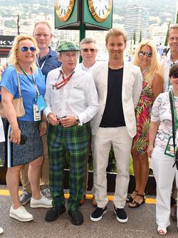 Jackie Stewart y Nico Rosberg, embajador de Mercedes-Benz