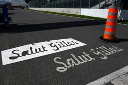 Salut Gilles - Atmosphäre an der Strecke