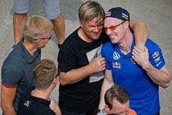 Henning Solberg, M-Sport; Jari-Matti Latvala, Volkswagen Motorsport