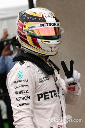 Pole de Lewis Hamilton, Mercedes Petronas AMG F1