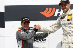 Podium: 2. Benjamin Leuchter, Racing One, VW Golf GTI TCR