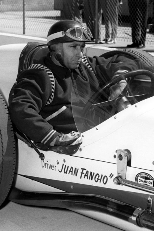 1958: Juan Manuel Fangio in Indy
