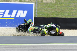 Pol Espargaro, Monster Yamaha Tech 3 runs wide and crashes