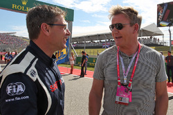 Bernd Mayländer, FIA Safety-Car-Fahrer; Gordon Ramsey, Starkoch