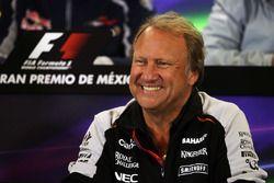 Robert Fernley, Team Principal Sahara Force India F1 Team lors de la conférence de presse de la FIA