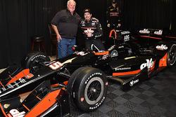 Alexandre Tagliani, A.J. Foyt Enterprises Honda and A.J. Foyt