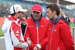 Neel Jani, Porsche Team; Marcel Fässler, Loic Duval, Audi Sport Team Joest